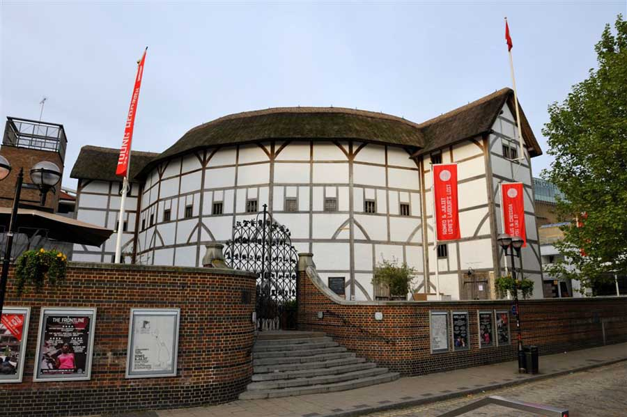 the globe theatre Globe theatre is one of most famous of all theatres as well as the venue for shakespeare's plays.
